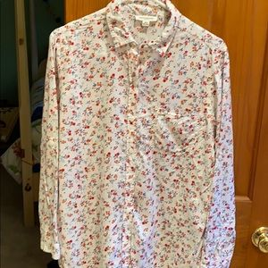 beachlunchlounge floral blouse